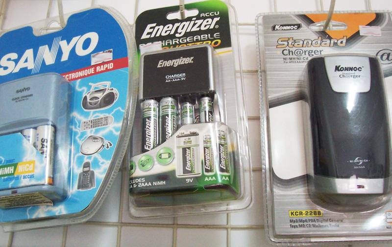 Зарядни устройства за акумулаторни батерии