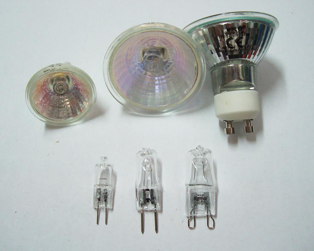 Халогенни лампи - лунички
